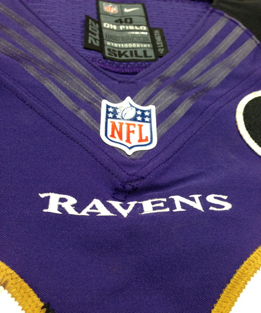 Purple Ravens Majesty: Game-Worn Playoff Jerseys Arrive at Panini ...