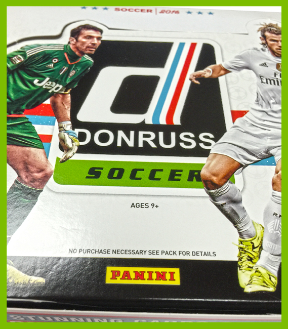 36 Count Panini 2016 Donruss Soccer Retail Box